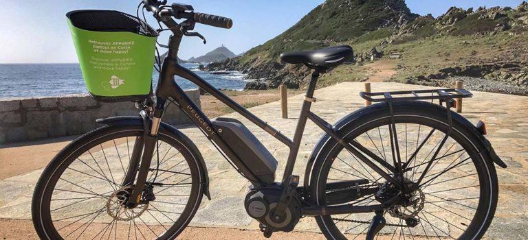 Appebike, location de vélo électrique partout en Corse