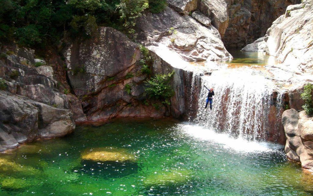 Séminaire en Corse Canyoning