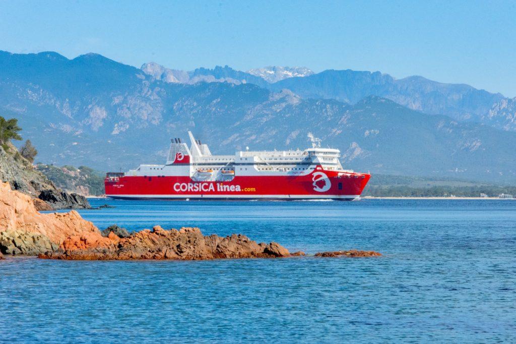Bateau pour la Corse - Corsica Linea